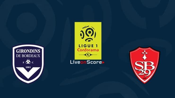 Bordeaux vs Brest Preview and Prediction Live stream Ligue 1 2019-2020