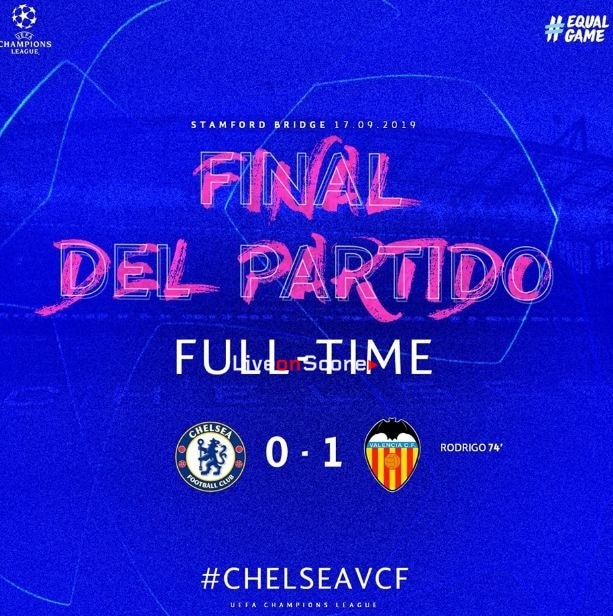 Chelsea 0-1 Valencia Full Highlight Video – Uefa Champions League