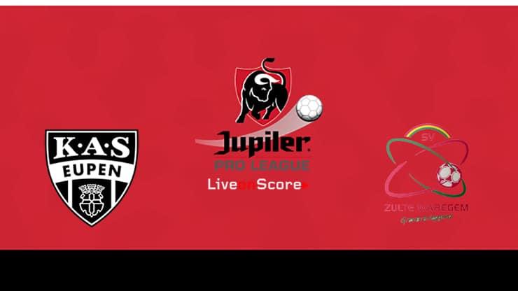 Eupen vs Waregem Preview and Prediction Live stream Jupiler League 2019/2020