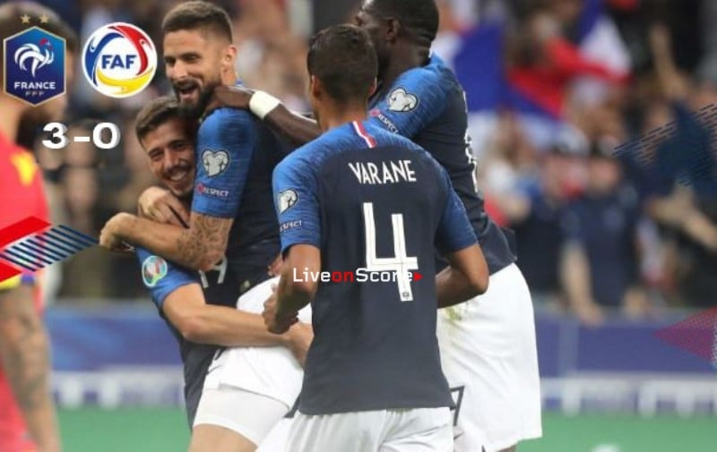 France 3-0 Andorra Full Highlight Video – EURO 2020 Qualification