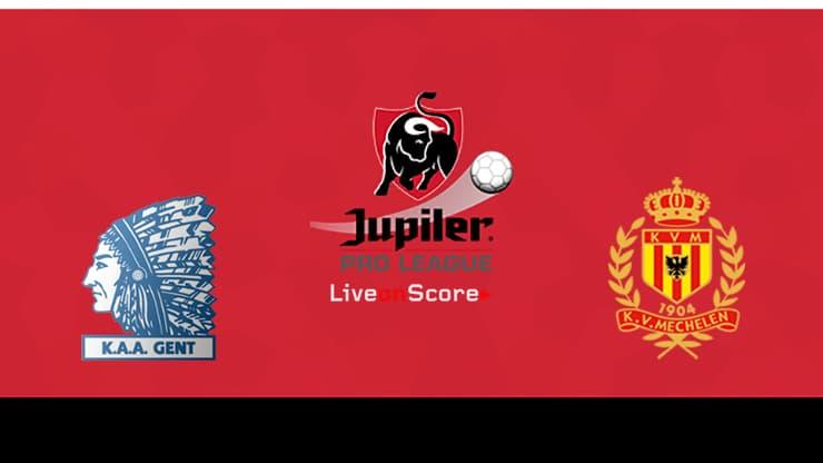 Gent vs KV Mechelen Preview and Prediction Live stream Jupiler League 2019/2020