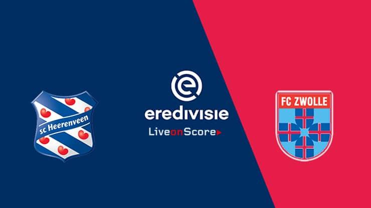 Heerenveen vs Zwolle Preview and Prediction Live stream – Eredivisie 2019/2020