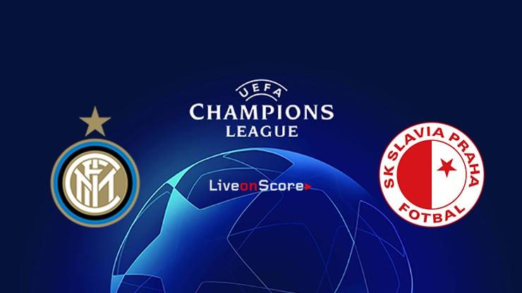 Inter vs Slavia Prague Preview and Prediction Live stream UEFA Champions League 2019/2020