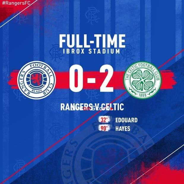 Rangers 0-2 Celtic Full Highlight Video – Premiership