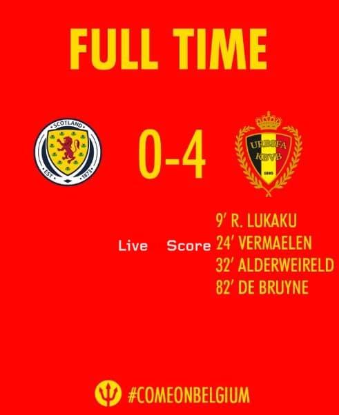 Scotland 0-4 Belgium Full Highlight Video – EURO 2020 Qualification