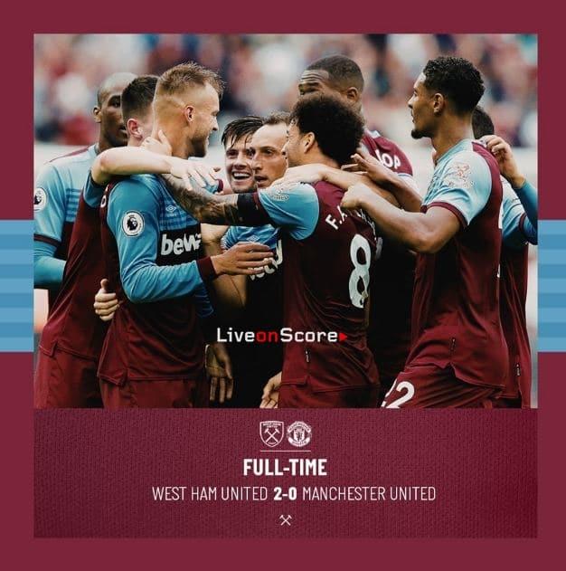 West Ham United 2 0 Manchester United Full Highlight Video Premier League