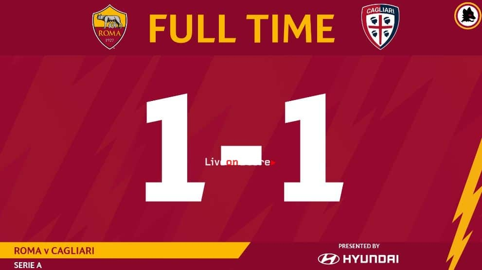 AS Roma 1-1 Cagliari Full Highlight Video – Serie Tim A