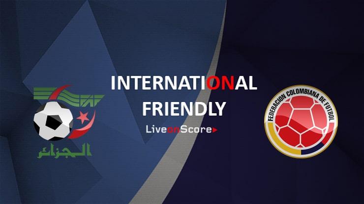 Algeria vs Colombia Preview and Prediction Live Stream International Friendly 2019