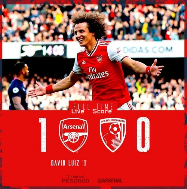 Arsenal 1-0 Bournemouth Full Highlight Video – Premier League