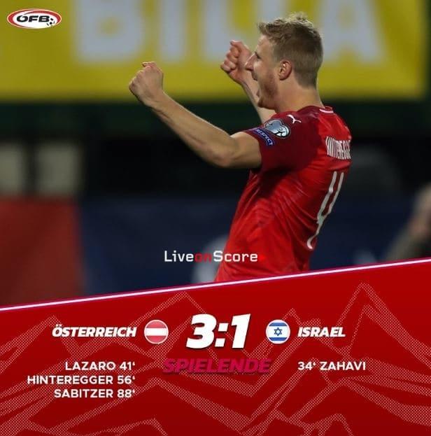 Austria 3-1 Israel Full Highlight Video – EURO 2020 Qualification