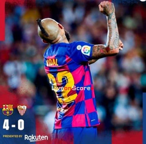 Barcelona 4-0 Sevilla Full Highlight Video – LaLiga Santander