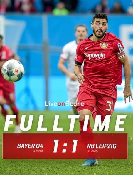 Bayer Leverkusen 1-1 RB Leipzig Full Highlight Video – Bundesliga