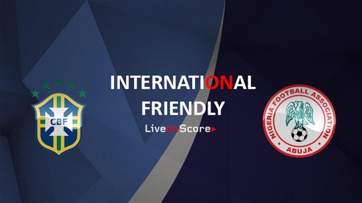 Brazil vs Nigeria Preview and Prediction Live Stream International Friendly 2019