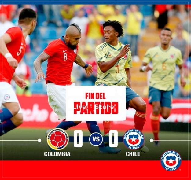 Colombia 0-0 Chile Full Highlight Video – Friendly International