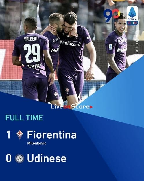 Fiorentina 1-0 Udinese Full Highlight Video – Serie Tim A