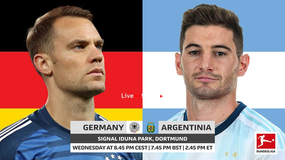 Germany vs. Argentina: probable line-ups, match stats and LIVE blog!