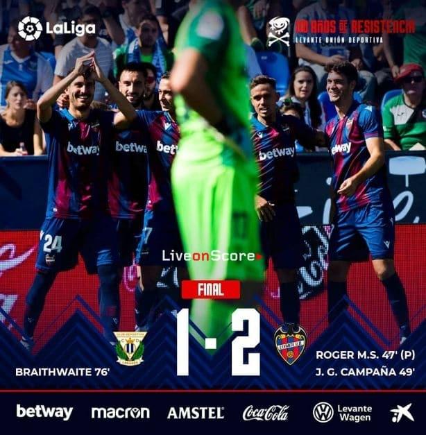 Leganes 1-2 Levante Full Highlight Video – LaLiga Santander