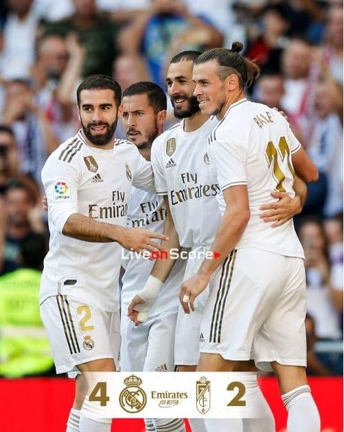 Real Madrid 4-2 Granada CF Full Highlight Video – LaLiga Santander