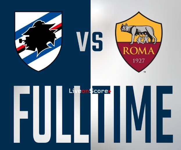 Sampdoria 0-0 AS Roma Full Highlight Video – Serie Tim A