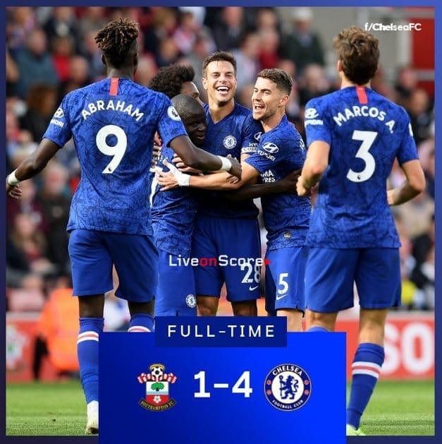 Southampton 1-4 Chelsea Full Highlight Video – Premier League
