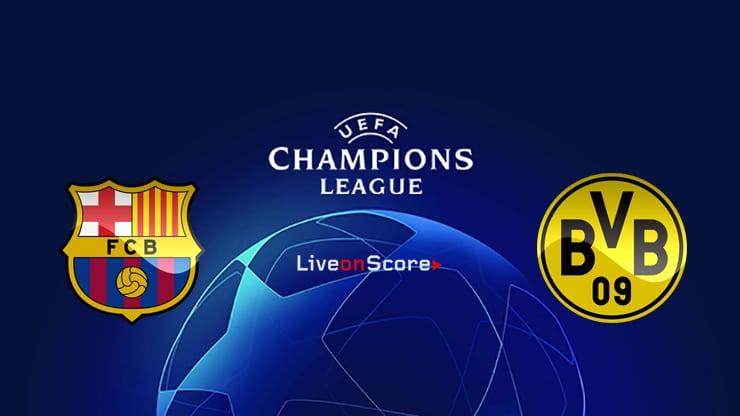 Barcelona Vs Dortmund Preview And Prediction Live Stream