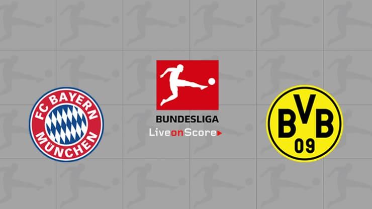 Bayern Munich vs Dortmund Preview and Prediction Live stream Bundesliga 2019/2020