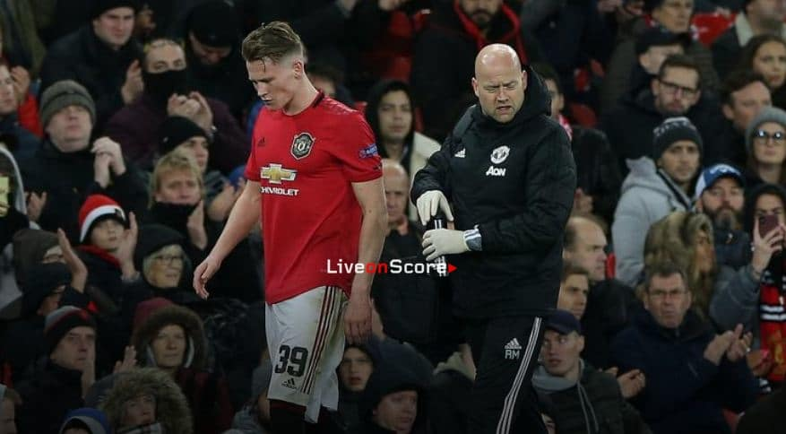 INJURY UPDATE ON MCTOMINAY AND MAGUIRE