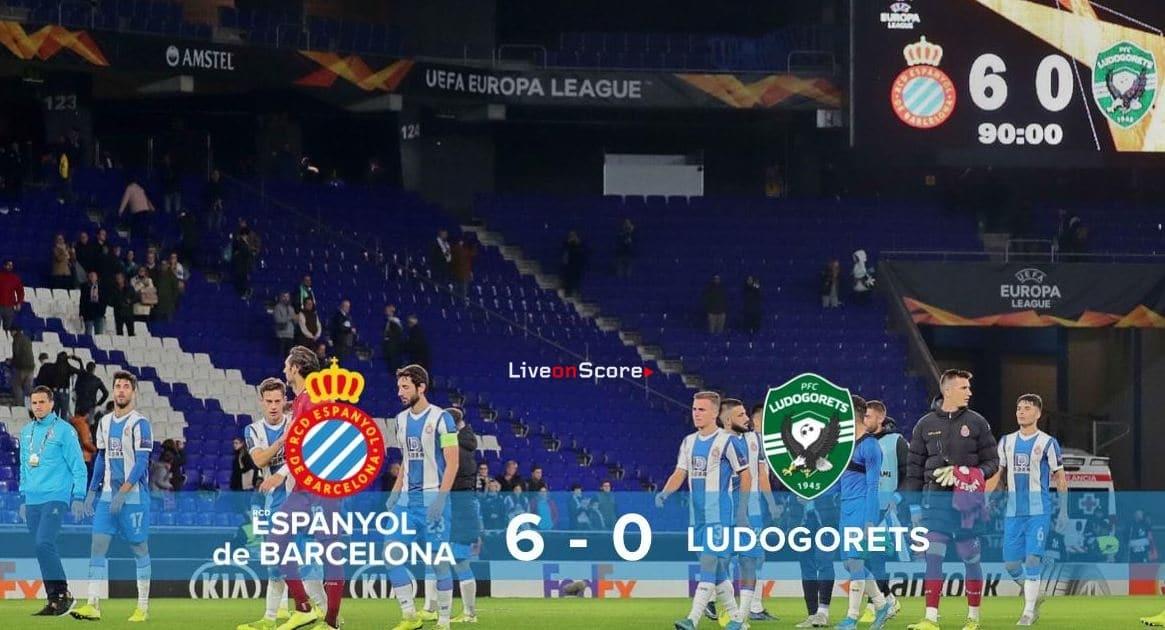 Espanyol 6-0 Ludogorets Full Highlight Video – Uefa Europa League