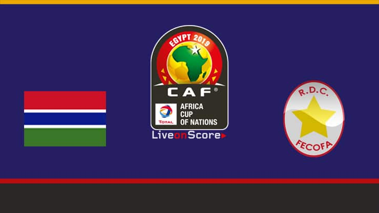 Gambia vs D.R. Congo Preview and Prediction Live stream Africa Cup of Nations – Qualification 2019