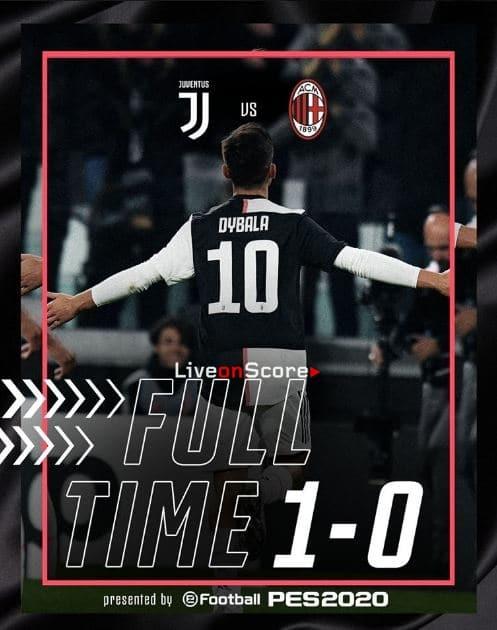 Juventus 1-0 AC Milan Full Highlight Video – Serie Tim A