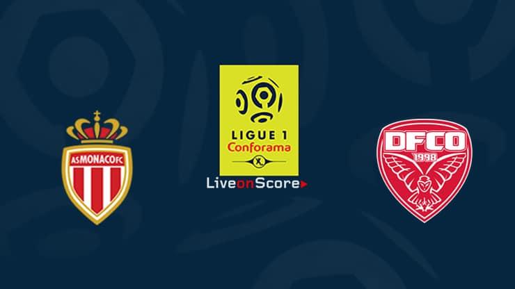 Monaco vs Dijon Preview and Prediction Live stream Ligue 1  2019/2020