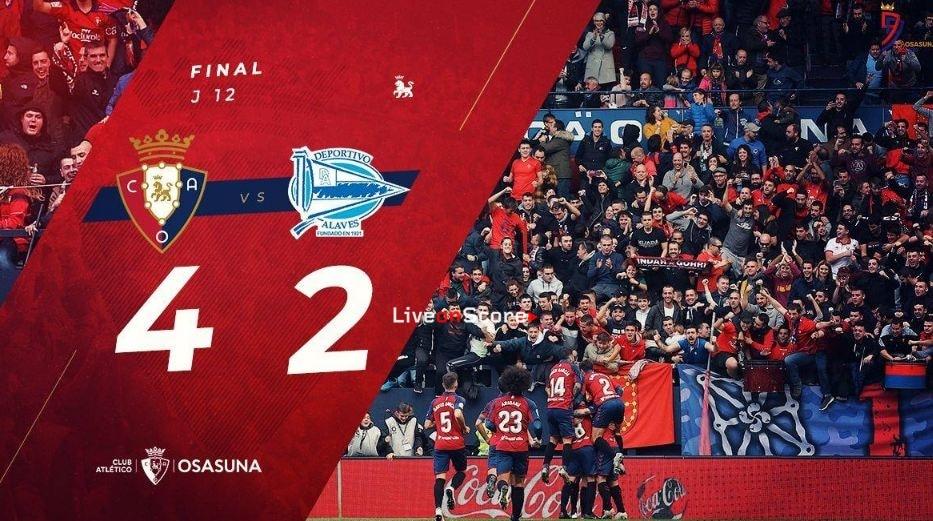 Osasuna 4-2 Alaves Full Highlight Video – LaLiga Santander
