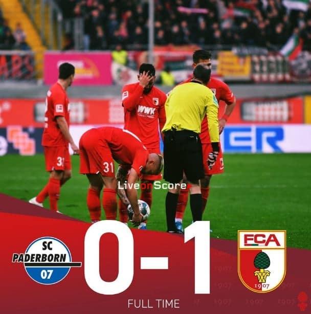 Paderborn 0-1 Augsburg video completo destacado - Bundesliga