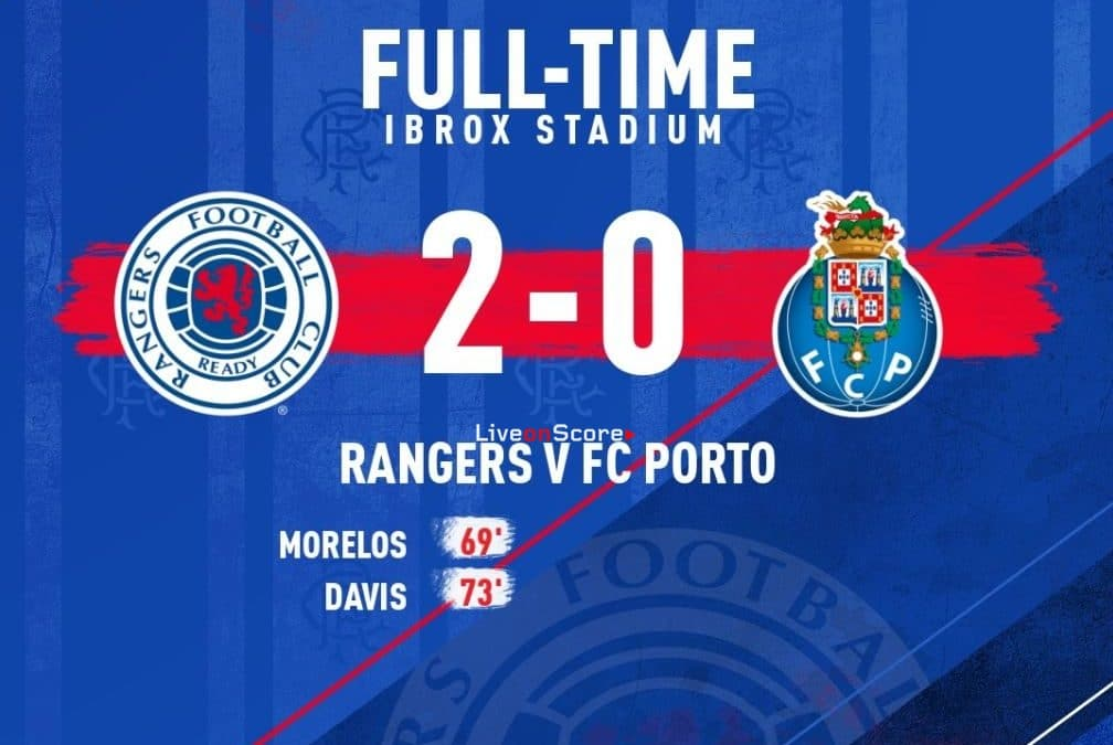 Rangers 2-0 FC Porto Full Highlight Video – Uefa Europa League