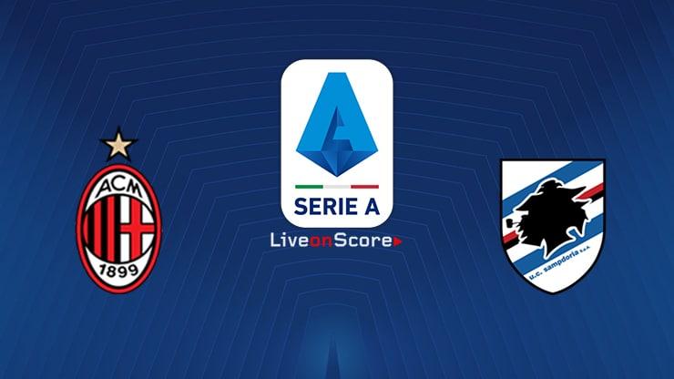 AC Milan vs Sampdoria Preview and Prediction Live stream Serie Tim A  2019/2020