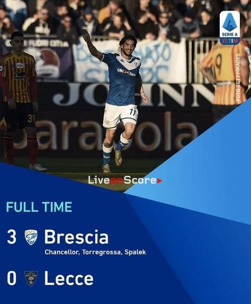 Brescia 3-0 Lecce Full Highlight Video – Serie Tim A