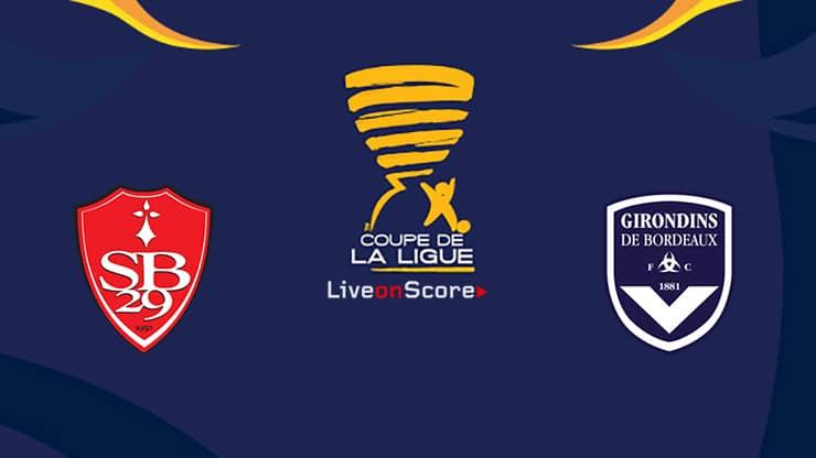 Brest vs Bordeaux Preview and Prediction Live Stream Coupe de La Ligue 1/8 Finals 2019/2020