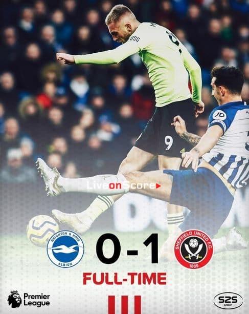 Brighton 0-1 Sheffield Utd Full Highlight Video – Premier League