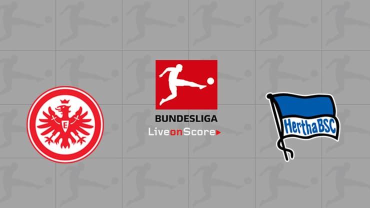 Eintracht Frankfurt vs Hertha Berlin Preview and Prediction Live stream Bundesliga 2019/2020