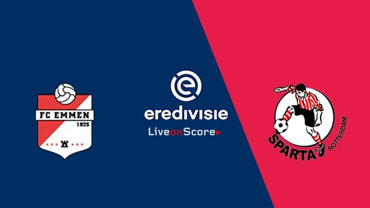 FC Emmen vs Sparta Rotterdam Preview and Prediction Live stream – Eredivisie 2019/2020