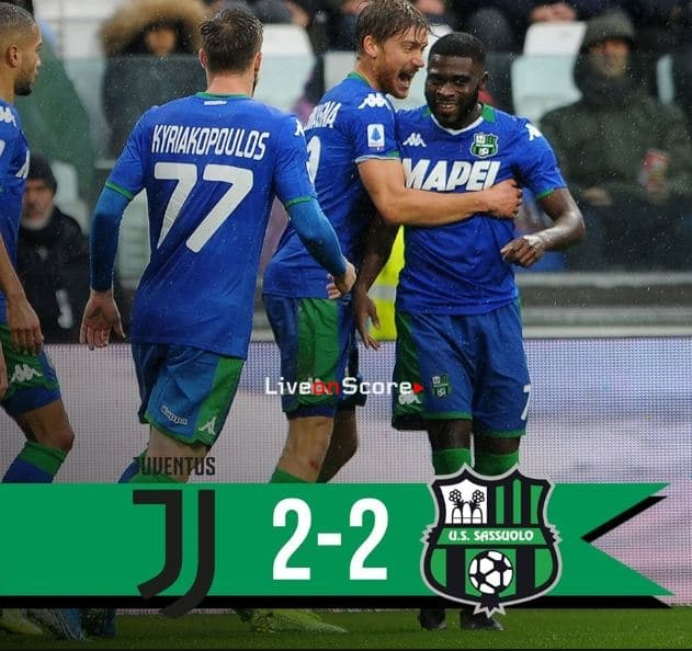 Juventus 2-2 Sassuolo Full Highlight Video – Serie Tim A