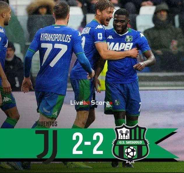 Juventus 2-2 Sassuolo Full Highlight Video – Serie Tim A