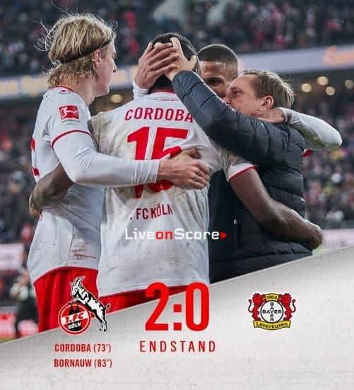 Koln 2-0 Bayer Leverkusen Full Highlight Video – Bundesliga