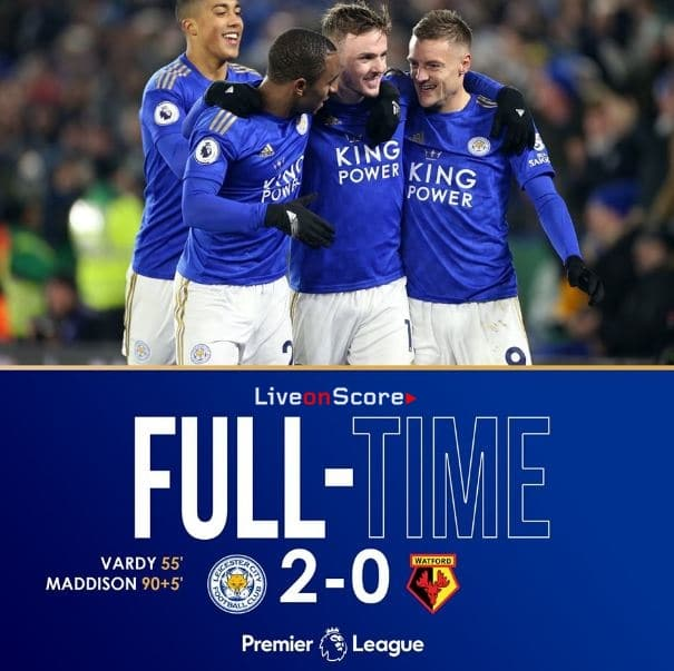 Leicester 2-0 Watford Full Highlight Video – Premier League
