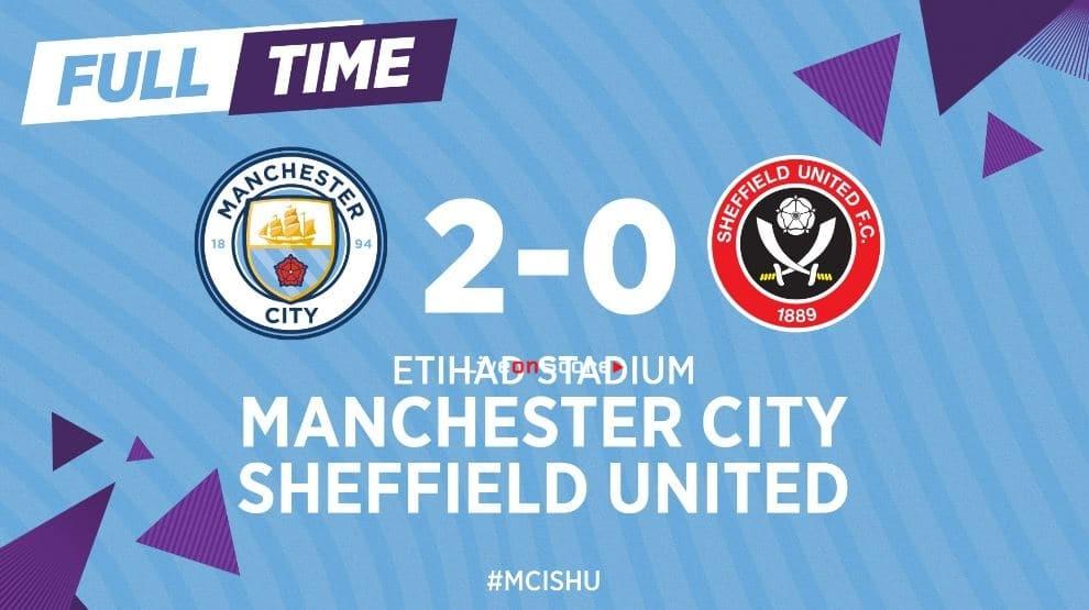 Manchester City 2-0 Sheffield Utd Full Highlight Video – Premier League