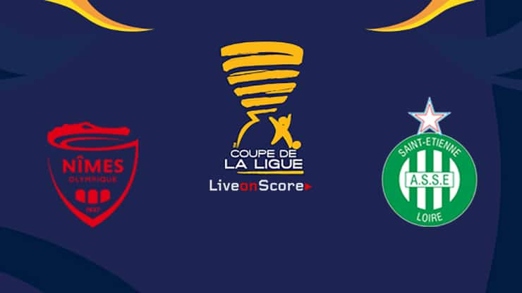 Nimes vs St Etienne Preview and Prediction Live Stream Coupe de La Ligue 1/8 Finals 2019/2020