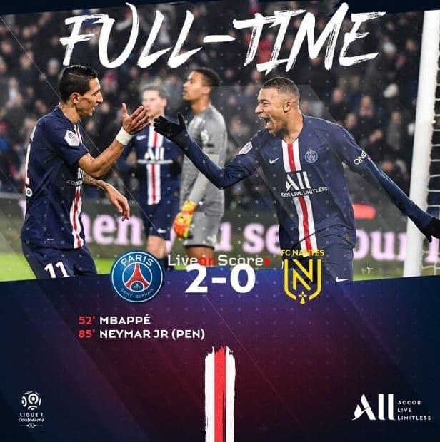 Paris SG 2-0 Nantes Full Highlight Video – France Ligue 1
