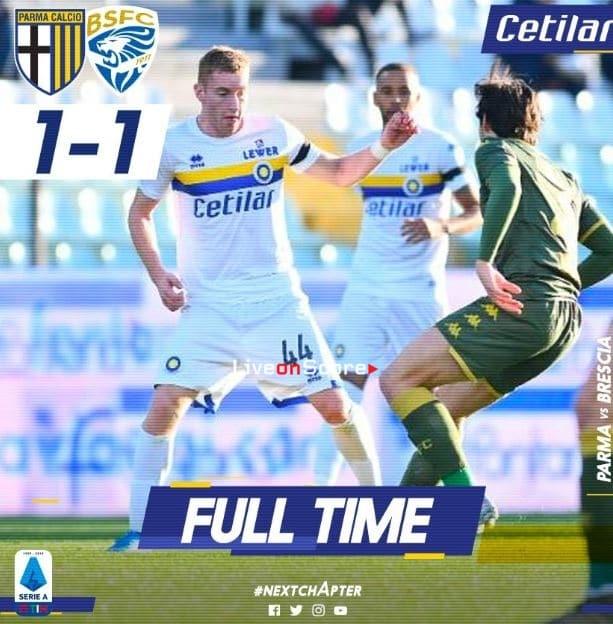 Parma 1-1 Brescia Full Highlight Video – Serie Tim A