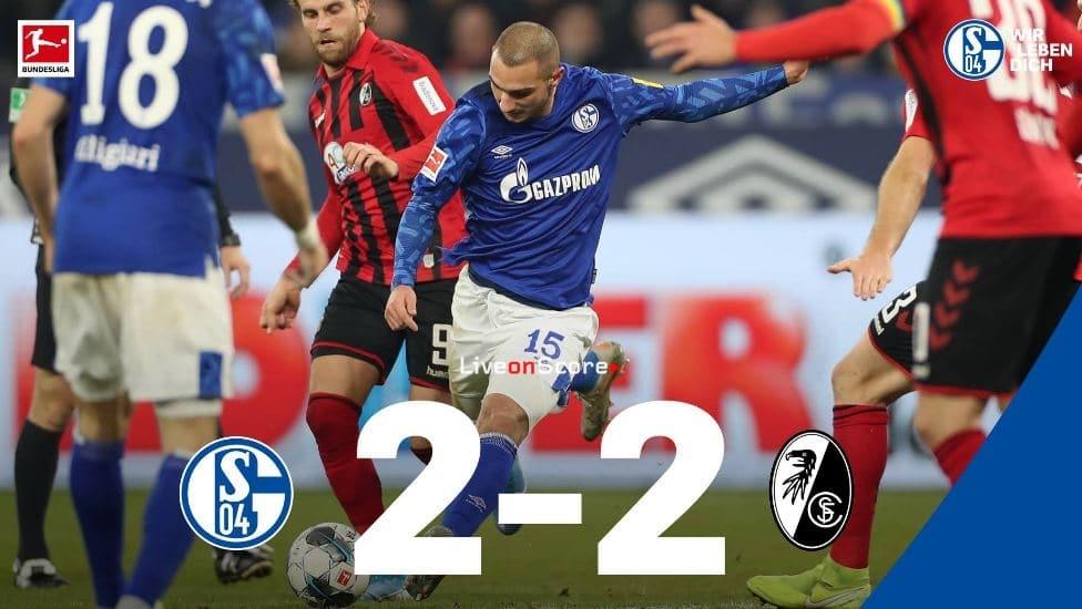 Schalke Freiburg 2021