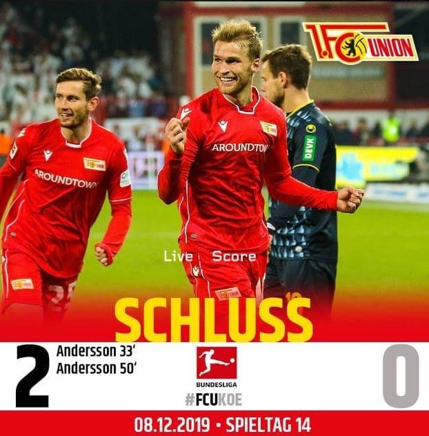 Union Berlin 2-0 FC Koln Full Highlight Video – Bundesliga
